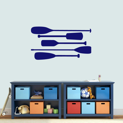 Boat Oars Wall Decals Medium Sample Image