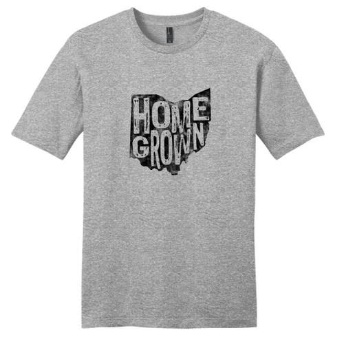 Light Heathered Gray Homegrown Ohio T-Shirt