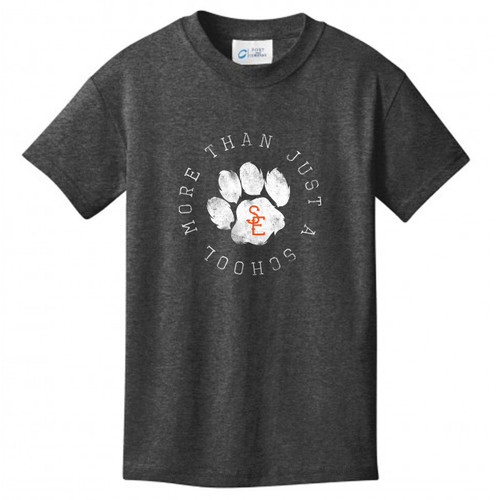 Dark Heather Grey Seneca East More Than Just A School Youth T-Shirt