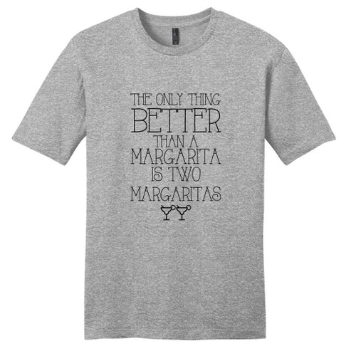 Light Heathered Gray Two Margaritas T-Shirt