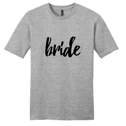 Light Heathered Gray Bride T-Shirt