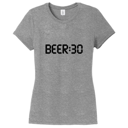 Gray Frost Beer:30 Women's Fitted T-Shirt