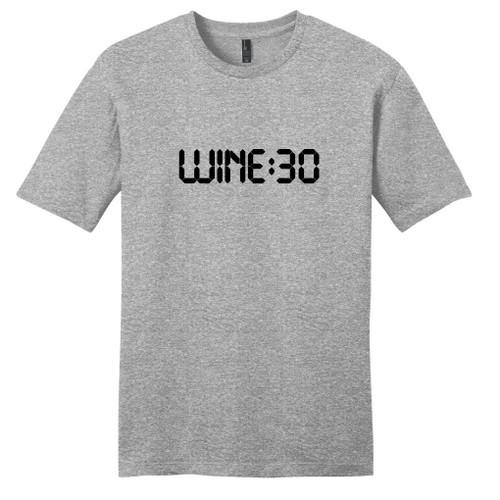 Light Heathered Gray Wine:30 T-Shirt