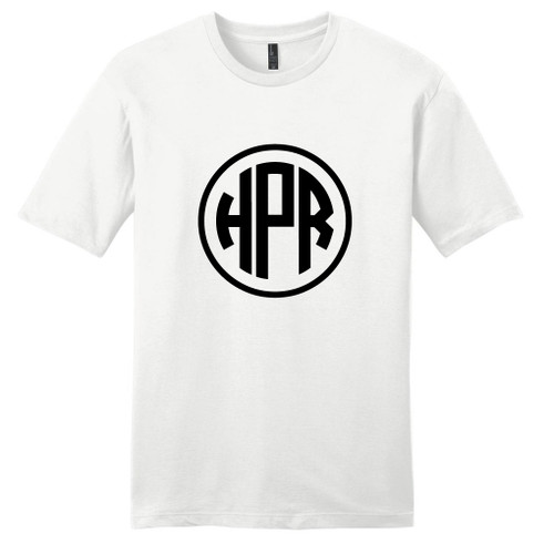 White Circle Monogram T-Shirt