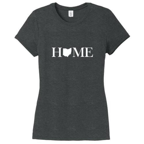 Black Frost Custom Home State Women's Fitted T-Shirt