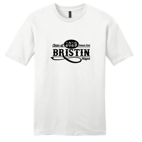 White Custom Class Of T-Shirt