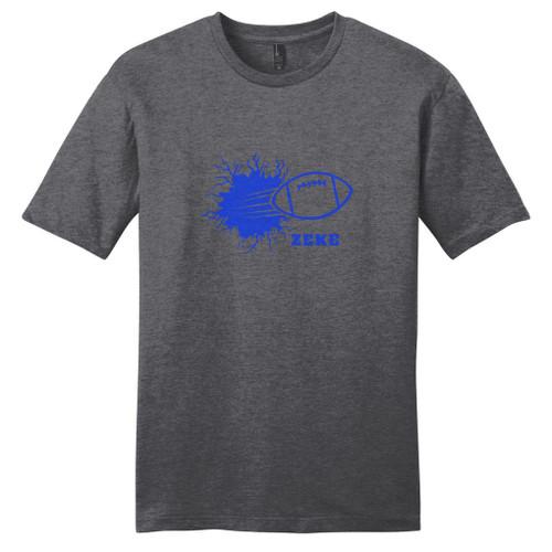 Custom Football Breaking Through Wall T-Shirt