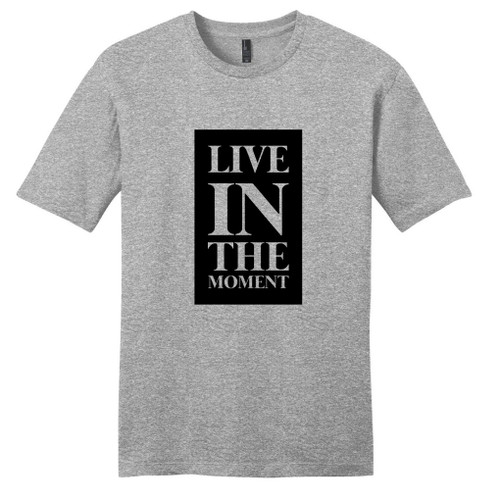 Light Heathered Gray Live In The Moment T-Shirt