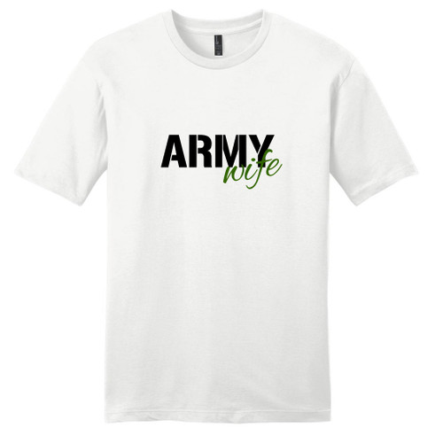 White Army Wife T-Shirt