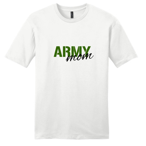 White Army Mom T-Shirt