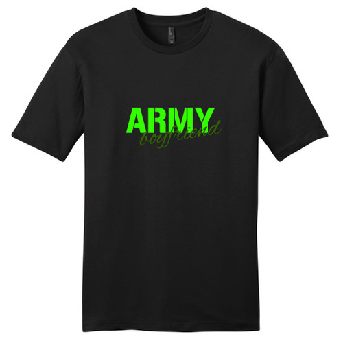 Black Army Boyfriend T-Shirt