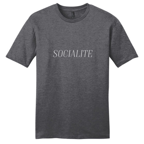 Heathered Charcoal Socialite T-Shirt