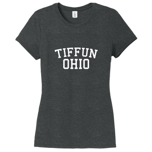 Black Frost Tiffun Ohio Women's Fitted T-Shirt