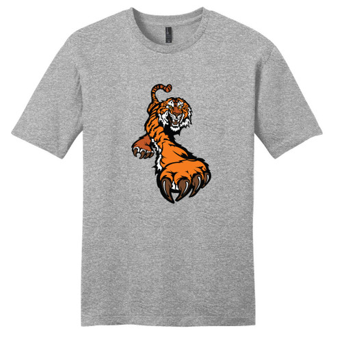 Light Heathered Gray Tiger T-Shirt