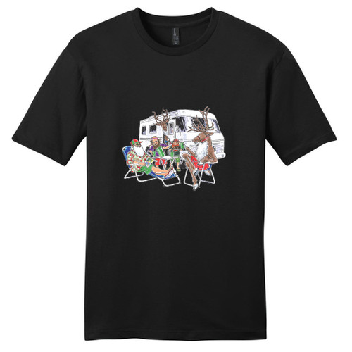 Black Santa's RV T-Shirt