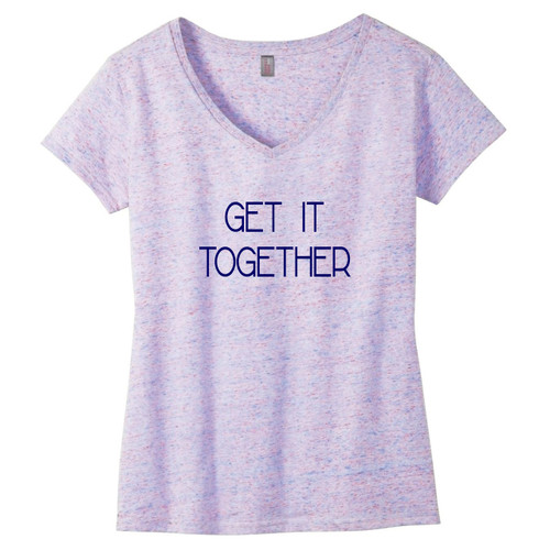 Get It Together Women's Relaxed V-Neck T-Shirt