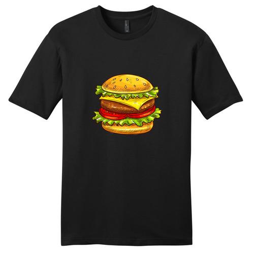 Black Cheeseburger T-Shirt