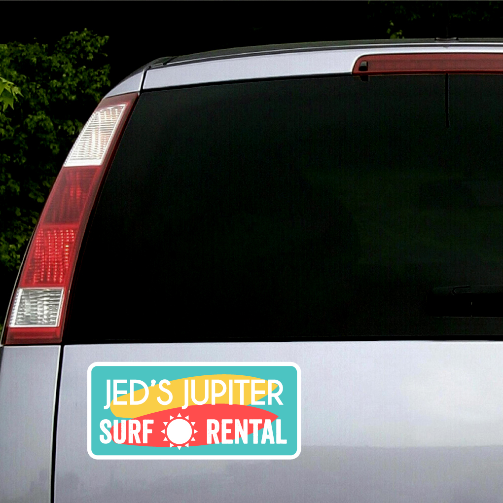 Custom Printed Vehicle Business Logo Decals Wall Decor Stickers - Custom car business stickers