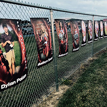 Vinyl Banners at Seneca East by Sweetums Signatures
