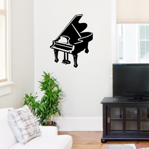 Baby Grand Piano Wall Decals and Stickers