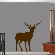 "Buck Wall Decals 40"" wide x 48"" tall Sample Image"