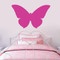 "Butterfly Silhouette Wall Decals 36"" wide x 22"" tall Sample Image"