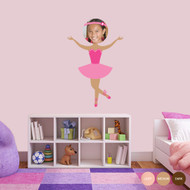 Custom Ballerina Photo Wall Decals and Stickers