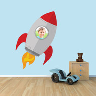 Custom Spaceship Photo Wall Decals and Stickers