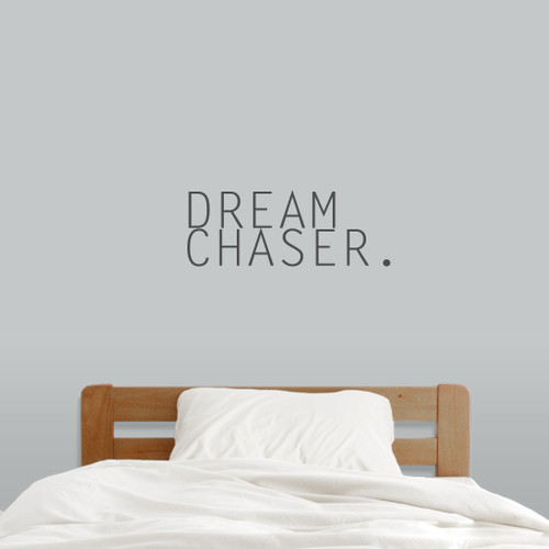 """Dream Chaser Wall Decals 24"""" wide x 9"""" tall Sample Image"""