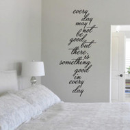 Something Good In Every Day - Wall Decals