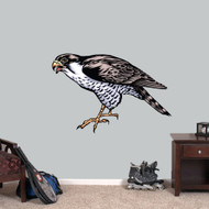 "Falcon Mascot Printed Wall Decals 36"" wide x 24"" tall Sample Image"