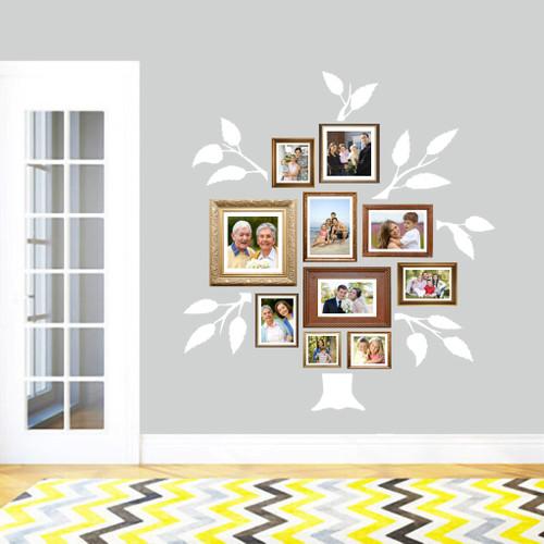Family Tree Wall Decals Medium Sample Image
