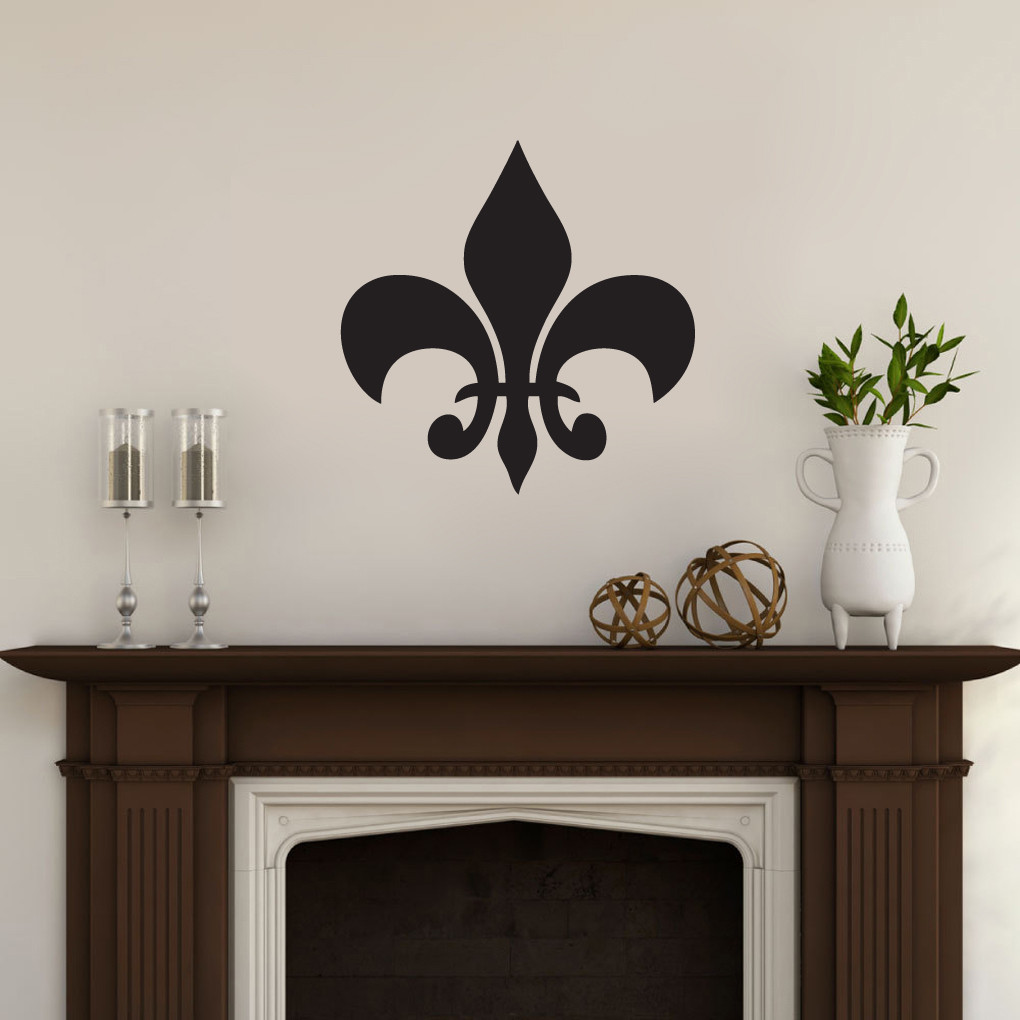 Fleur De Lis Wall Decor fleur de lis wall decals wall decor stickers
