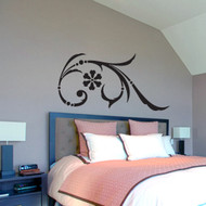 Pinwheel Flourish Wall Decals and Stickers