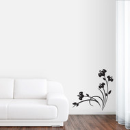 Spring Flower Cluster Wall Decals and Stickers