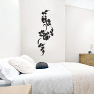 Vine Of Flowers Wall Decals and Stickers