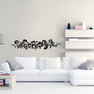 Ornate Flourish Wall Decals and Stickers