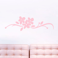 Orchid Flourish Wall Decals and Stickers