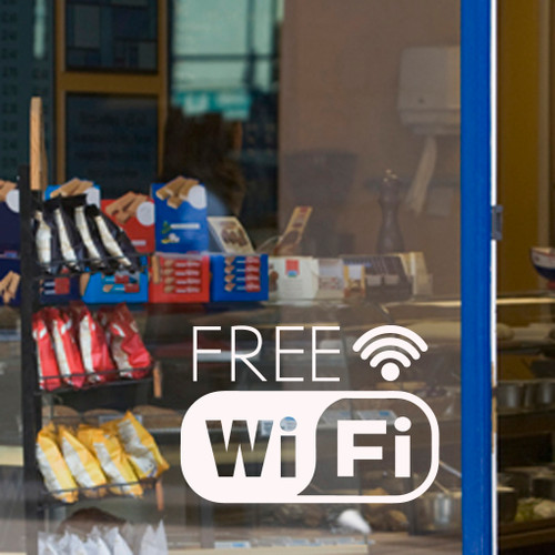 Free Wifi - Wall Decals and Stickers