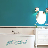 Get Naked - Wall Decal