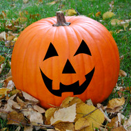 Jack-O'-Lantern Face Wall Decals and Stickers