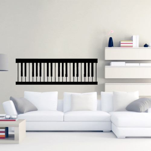 Piano Keys Wall Decals and Stickers