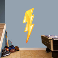 """Lightning Bolt Printed Wall Decal 16"""" wide x 48"""" tall Sample Image"""