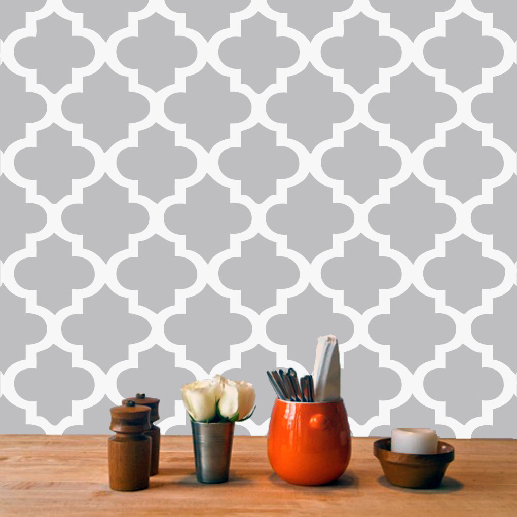 room kitchen moroccan tile backsplash wall decals wall stickers