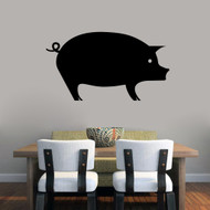 "Pig Wall Decal 36"" wide x 20"" tall Sample Image"