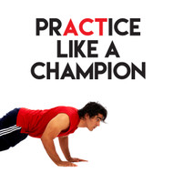Practice Like A Champion Wall Decals and Stickers