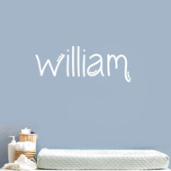 Custom Simple Dot Name Wall Decals and Stickers