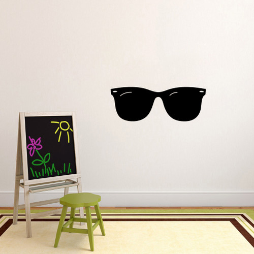 "Sunglasses Wall Decals 36"" wide x 13"" tall Sample Image"