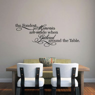 "The Fondest Memories Wall Decals 45"" wide x 16"" tall Sample Image"