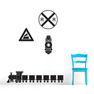 Train Wall Decals and Stickers